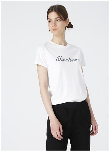 Skechers Skechers T-Shirt Beyaz